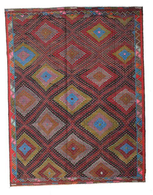 Kilim semi antichi turchi 216x280 carpetvista - Tappeti turchi vintage ...