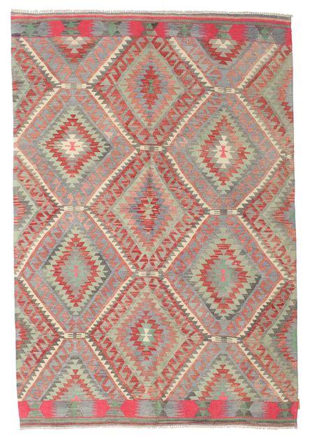Kilim semi antichi turchi 176x258 carpetvista - Tappeti turchi vintage ...