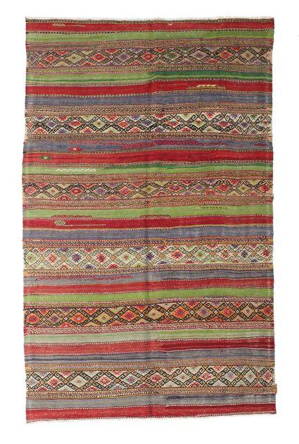 Kilim semi antichi turchi 166x265 carpetvista - Tappeti turchi vintage ...