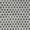 Kilim Honey Comb - Honeycomb Black / Grey