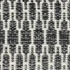 Kilim Long Stitch - Preto / Cinzento