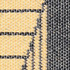 Diagonal - Schwarz / Gelb