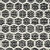 Kilim Honey Comb - Black / Grey